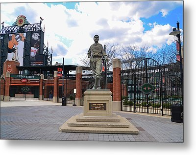 Metal Print featuring the photograph Babes Dream - Camden Yards Baltimore by Bill Cannon