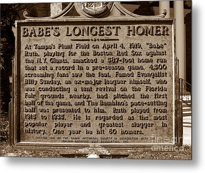Babes Longest Homer Metal Print by David Lee Thompson