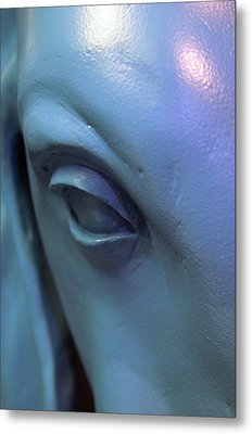 Baby Blue Eyes Metal Print by Jez C Self