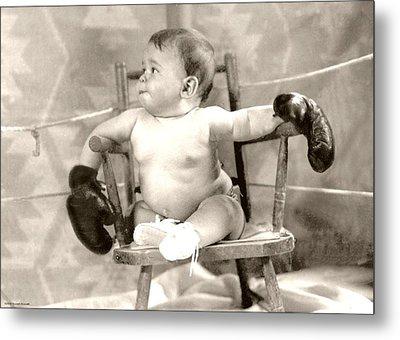 Baby Boxer Metal Print