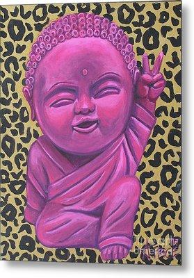 Baby Buddha 2 Metal Print