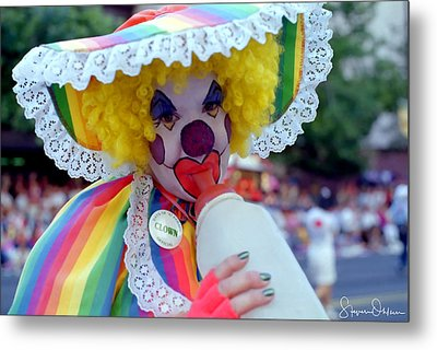 Baby Clown - Signed Limited Edition Metal Print by Steve Ohlsen