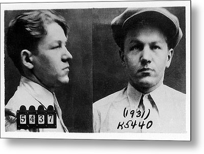 Baby Face Nelson 1908-1934, Bank Robber Metal Print by Everett