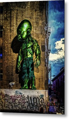 Metal Print featuring the photograph Baby Hulk by Chris Lord