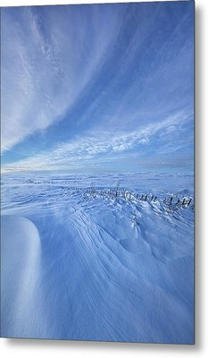 Metal Print featuring the photograph Baby It's Cold Outside by Phil Koch
