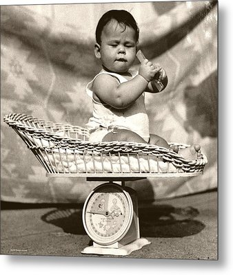 Baby Scale Metal Print