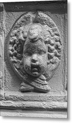Baby Stone Face Metal Print by Robert Ullmann