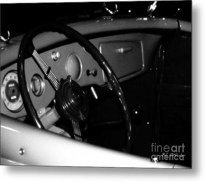 Metal Print featuring the photograph Baby You Can Drive My Car I by RC deWinter