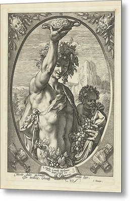 Bacchus God Of Ectasy Metal Print