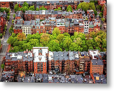 Metal Print featuring the photograph Back Bay Boston  by Carol Japp