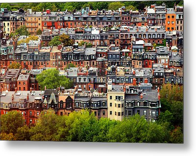 Back Bay Metal Print by Rick Berk
