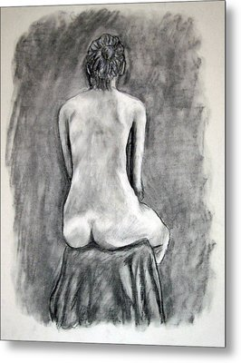 Back Beauty Metal Print by Jean Haynes