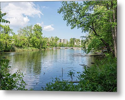 Metal Print featuring the photograph Back Creek At Severn House by Charles Kraus
