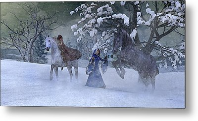 Back In The Day Metal Print by Betsy Knapp