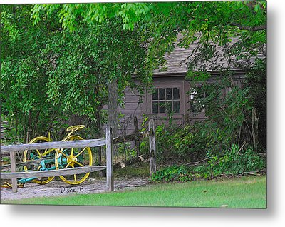 Back In The Day Metal Print by Diane Giurco