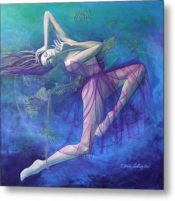 Back In Time Metal Print by Dorina  Costras