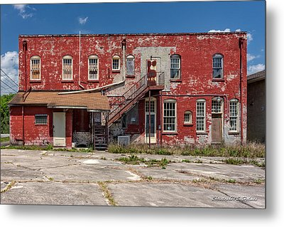 Back Lot Metal Print by Christopher Holmes