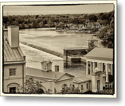 Back Of Water Works Metal Print by Jack Paolini