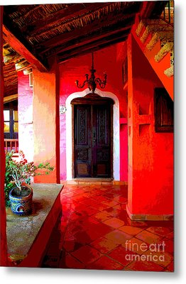 Back Passage By Darian Day Metal Print by Mexicolors Art Photography