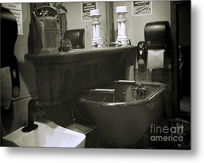 Metal Print featuring the photograph Back When by Lori Mellen-Pagliaro