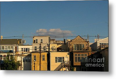 Backdoors Metal Print by Colleen Kammerer