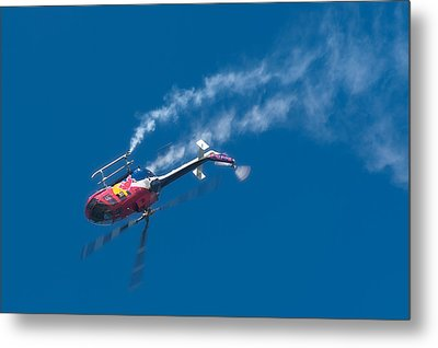 Backflip Metal Print
