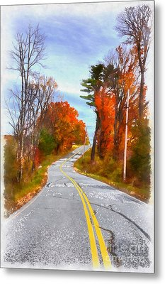 Backroads Vermont Metal Print