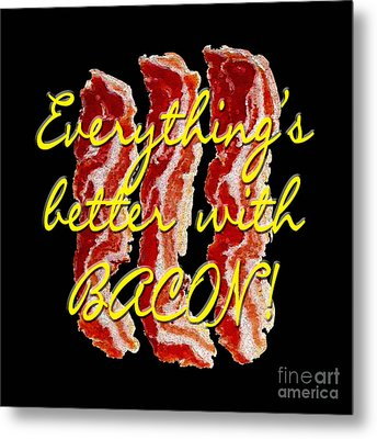 Bacon Metal Print
