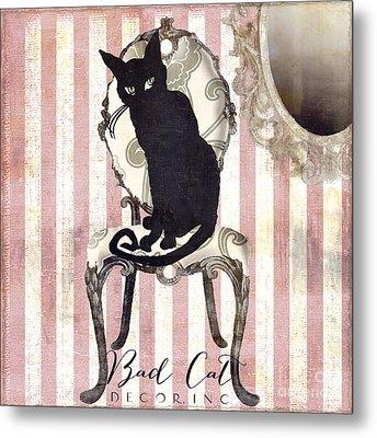 Bad Cat II Metal Print