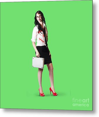 Bad Day At The Office Metal Print by Jorgo Photography - Wall Art Gallery