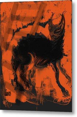 Bad Luck Metal Print by Russell Pierce