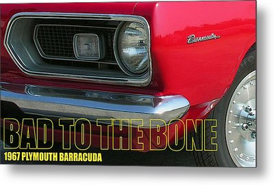 Bad To The Bone Metal Print by Richard Rizzo