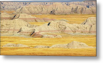 Metal Print featuring the photograph Badlands Mystique by Al Swasey