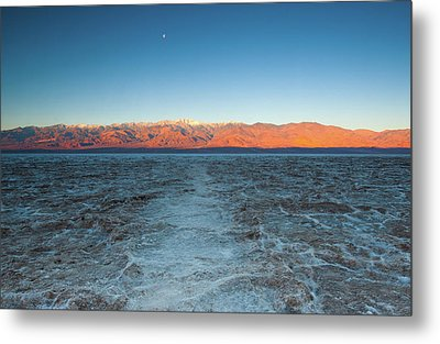 Metal Print featuring the photograph Badwater  by Catherine Lau