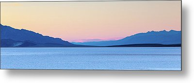 Metal Print featuring the photograph Badwater - Death Valley by Peter Tellone