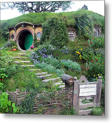 Bag End Metal Print by Anthony Forster