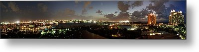 Bahama Night Metal Print by Jerry Battle