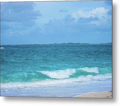 Bahama Waves Metal Print by Rick Grossman