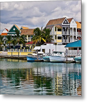 Bahamian Color Metal Print by Ron Dubin