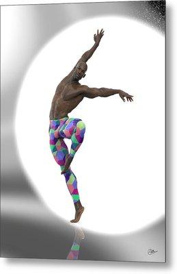 Bailarin Con Foco Metal Print by Joaquin Abella