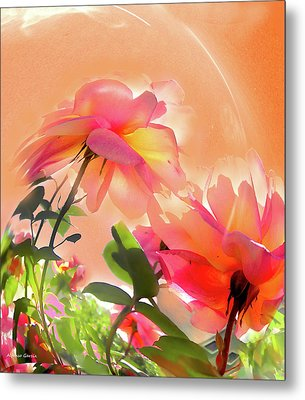 Metal Print featuring the photograph Baile Floral by Alfonso Garcia