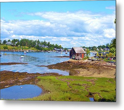 Bailey Island Lobster Shack Metal Print