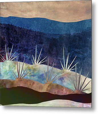 Baja Landscape Number 2 Metal Print by Carol Leigh