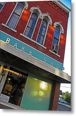 Bake Shop Metal Print