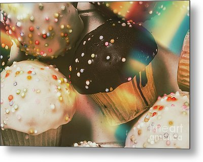 Bakers Cupcake Delight Metal Print