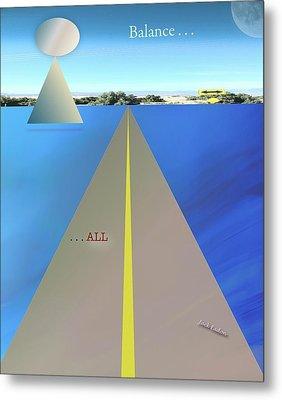 Balance All Metal Print by Jack Eadon