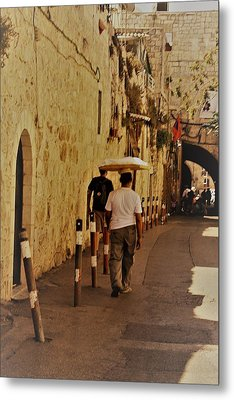 Balance In Jerusalem  Metal Print