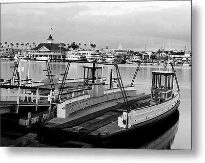 Balboa Ferry Metal Print by Eric Foltz