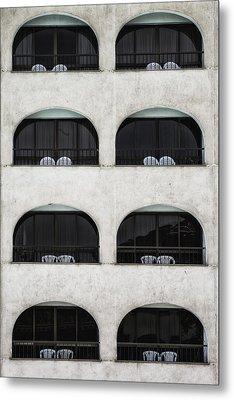 Balconies Metal Print by Joana Kruse