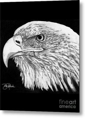Bald Eagle #4 Metal Print by Bill Richards